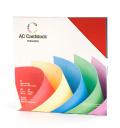 【スクラップブッキング 無地台紙ペーパーセット 12インチ】12X12 american crafts card stock - primaries(プライマリー)