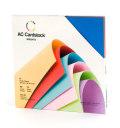 【スクラップブッキング 無地台紙ペーパーセット 12インチ】12X12 american crafts card stock - brights(ブライト)