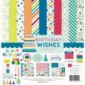 【スクラップブッキング ページキット 12インチ】12x12 echo park paper - birthday wishes boy(バースデーウィッシズ ボーイ)