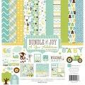 【スクラップブッキング ページキット 12インチ】12x12 echo park paper - bundle of joy boy : a new addition(バンドルオブジョイ ボーイ ニューアディション)