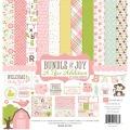 【スクラップブッキング ページキット 12インチ】12x12 echo park paper - bundle of joy girl : a new addition(バンドルオブジョイ ガール ニューアディション)