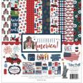 【スクラップブッキング ページキット 12インチ】12x12 echo park paper - celebrate america collection kit(セレブレイトアメリカ コレクションキット)