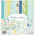 【スクラップブッキング ページキット 12インチ】12x12 carta bella paper - baby mine boy(ベイビーマイン ボーイ)