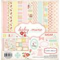 【スクラップブッキング ページキット 12インチ】12x12 carta bella paper - baby mine girl(ベイビーマイン ガール)