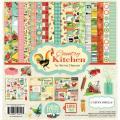 【スクラップブッキング ページキット 12インチ】12x12 carta bella paper - country kitchen collection kit(カントリーキッチン コレクションキット)