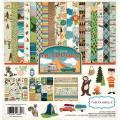 【スクラップブッキング ページキット 12インチ】12x12 carta bella paper - the great outdoors collection kit(グレートアウトドア コレクションキット)