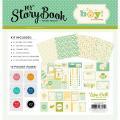 【スクラップブッキング ページキット 12インチ】12x12 carta bella paper [プロテクター/エンベリ付きキット] [My Story Book - Pocket Page Kit] It's A Boy([マイストーリーブック - ポケットページキット]ベビー:イッツアボーイ)
