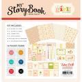 【スクラップブッキング ページキット 12インチ】12x12 carta bella paper [プロテクター/エンベリ付きキット] [My Story Book - Pocket Page Kit] It's A Girl([マイストーリーブック - ポケットページキット]ベビー:イッツアガール)