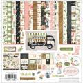 【スクラップブッキング ページキット 12インチ】12x12 carta bella paper - spring market collection kit(スプリングマーケット コレクションキット)