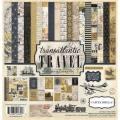 【スクラップブッキング ページキット 12インチ】12x12 carta bella paper -transatlantic travel collection kit(トランスアトランティック トラベル コレクションキット)