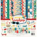 【スクラップブッキング ページキット 12インチ】12x12 echo park paper - good day sunshine collection kit(グッドデイサンシャイン(夏) コレクションキット)