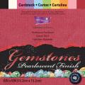 【スクラップブッキング 無地ペーパーセット 6インチ】6x6 core'dinations gemstones cardstock pack (カードストックパック 40枚入 - ジェムストーンズ #GX1750)