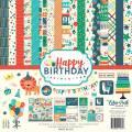 【スクラップブッキング ページキット 12インチ】12x12 echo park paper - happy birthday boy collection kit(ハッピーバースデーボーイ コレクションキット)