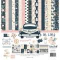 【スクラップブッキング ページキット 12インチ】12x12 echo park paper - just married collection kit(ジャストマリード(ウェディング) コレクションキット)