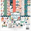 【スクラップブッキング ページキット 12インチ】12x12 echo park paper - mermaid tales collection kit(マーメイドテイルズ コレクションキット)