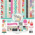 【スクラップブッキング ページキット 12インチ】12x12 echo park paper - party time collection kit(パーティータイム コレクションキット)