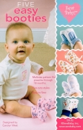 【日本語訳付】Sew Baby! 輸入型紙 5 Easy Booties/ベビーブーティー