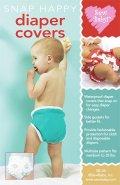 【日本語訳付】Sew Baby! 輸入型紙 Diaper Covers/おむつカバー