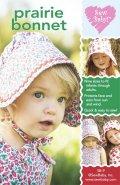 【日本語訳付】Sew Baby! 輸入型紙 Prairie Bonnet/プレーリーボンネット