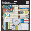 【スクラップブッキング ページキット 12インチ】12x12 me & my big ideas  scrapbook kit - my grandchildren(マイ グランドチルドレン)