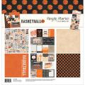 【スクラップブッキング ページキット 12インチ】12x12 simple stories - simple sets collection kit - basketball(バスケットボール)