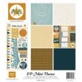 【スクラップブッキング ページキット 12インチ】12x12 echo park paper mini themes all star(ミニテーマ オールスター-バスケ)