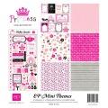 【スクラップブッキング ページキット 12インチ】12x12 echo park paper mini themes princess(プリンセス)