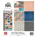 【スクラップブッキング ページキット 12インチ】12x12 echo park paper mini themes - off road(ミニテーマ オフロード)