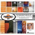 【スクラップブッキング ページキット 12インチ】12x12 reminisce - basketball collection kit(バスケットボール TBAC-200)