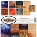 【スクラップブッキング ページキット 12インチ】12x12 reminisce - basketball【2】 collection kit(バスケットボール【2】 TBAC-201)