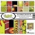 【スクラップブッキング ページキット 12インチ】12x12 reminisce - softball collection kit(ソフトボール TSOFC-200)