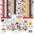 【スクラップブッキング ページキット 12インチ】12x12 echo park paper - wish upon a star collection kit(ウィッシュアポンアスター コレクションキット)