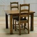 エクステーションテーブルS  3点セット(テーブル+チェア2脚) TYD039/TYB020/TYB020(OAK)
