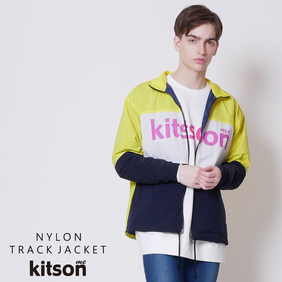 kitson me  ナイロントラックジャケット◆