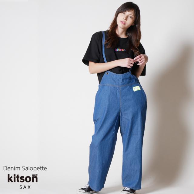 kitson me デニムサロペット