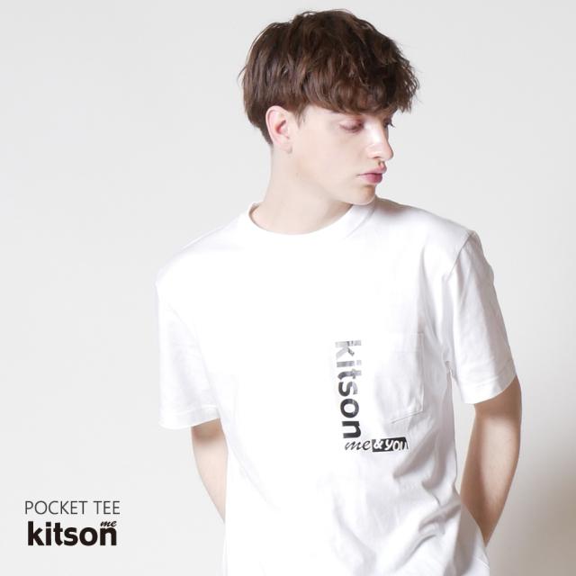 kitson me ポケットTEE