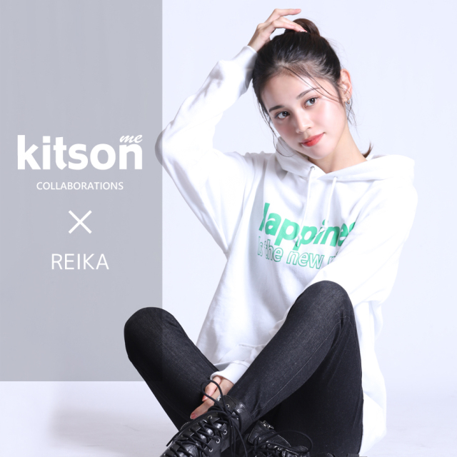 REIKA×Kitson me  コラボプルオーバーパーカー