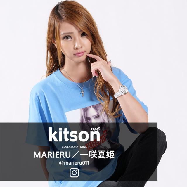 MARIERU/一咲夏姫 ×Kitson me  コラボ半袖Tシャツ