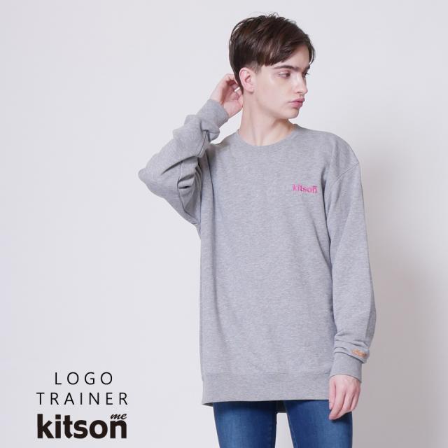 kitson me ロゴ刺繍トレーナー◆