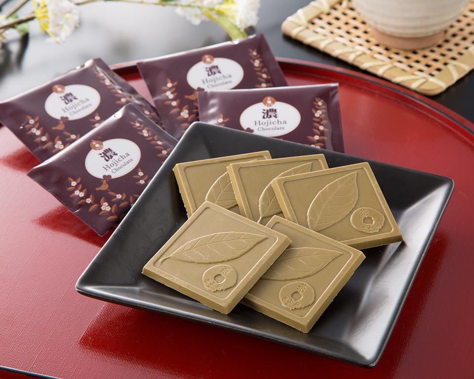 宇治ほうじ茶チョコレート【濃】プチ