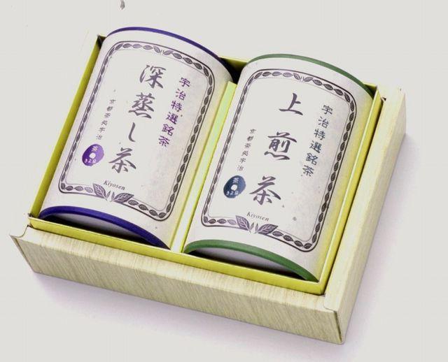 宇治茶ギフト【k-30】宇治煎茶セット