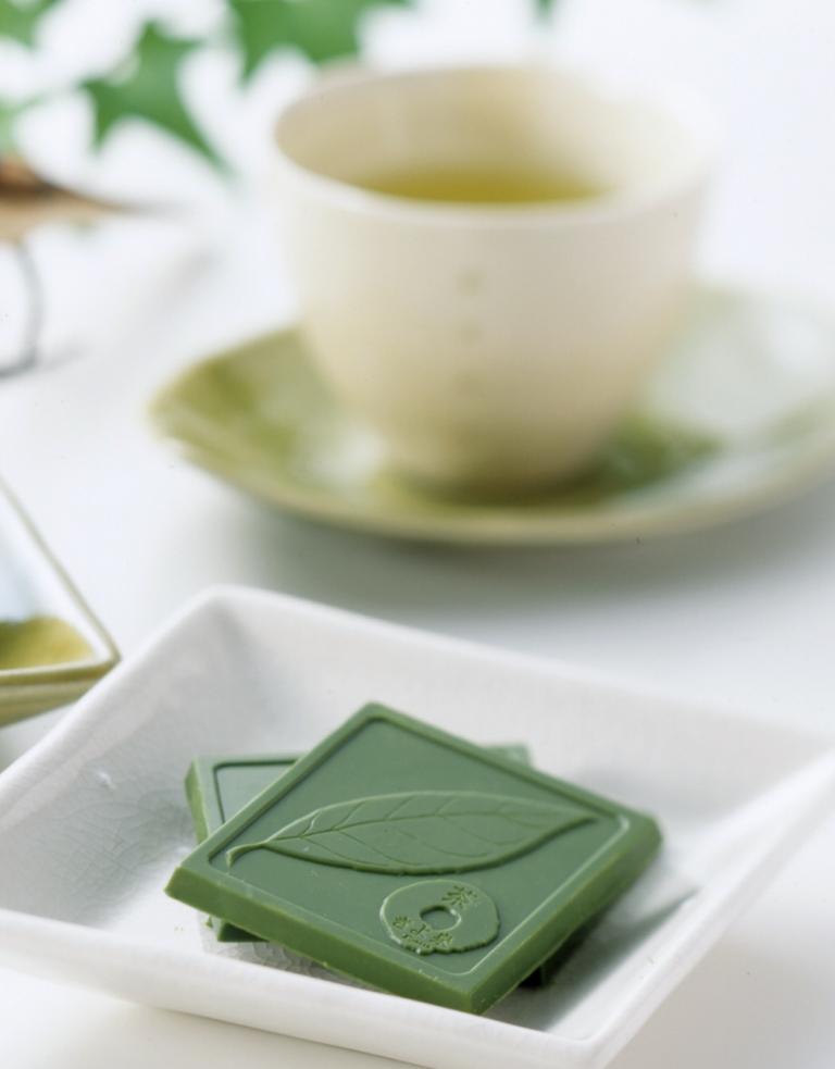 宇治抹茶チョコと宇治茶セット