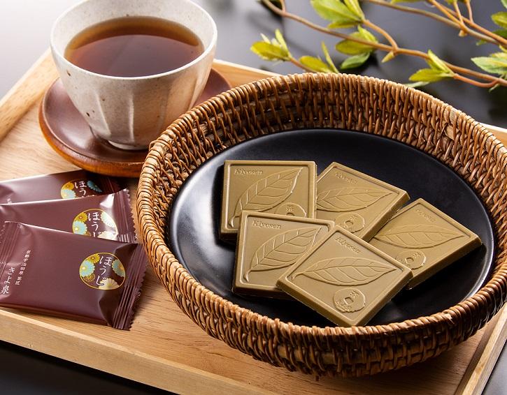 ほうじ茶チョコレート 焙じ