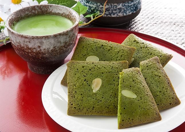 京都茶匠の抹茶フィナンシェ&抹茶ラテ