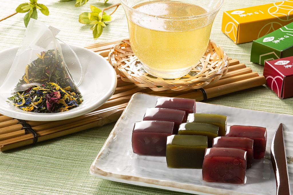 宇治茶アールグレイと京の一口ようかんセット