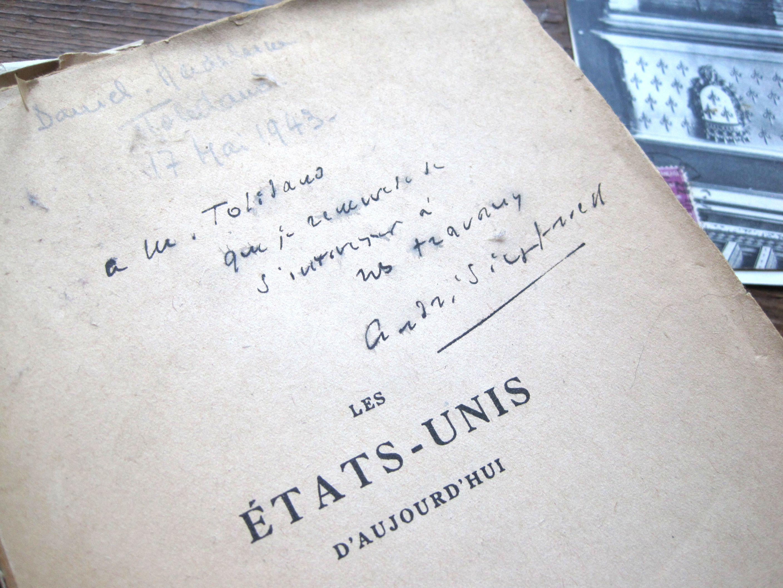 フランスアンティーク 古書 LES ETATS-UNIS 1941年