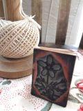 フランスアンティーク 刺繍用お花スタンプ スミレ