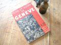 フランスアンティーク PLAN ET GUIDE DE GENEVE 1950年代