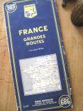 フランスアンティーク ミシュランロードマップ FRANCE GRANDES ROUTES no.989