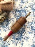 フランスアンティーク 糸巻きボビンケース 木製
